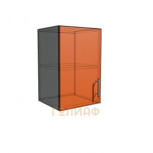 Верхний навесной шкаф 35 см 1Д (540)