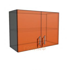 Верхний навесной шкаф 75 см 2Д (540)