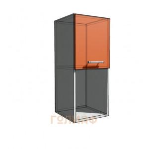Верхний навесной шкаф 30 см с открытой полкой 1Д гор (720)