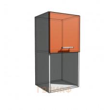Верхний навесной шкаф 35 см с открытой полкой 1Д гор (720)