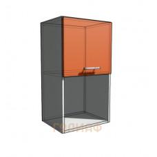 Верхний навесной шкаф 40 см с открытой полкой 1Д гор (720)