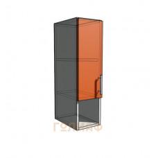 Верхний навесной шкаф 20 см с открытой полкой (720)