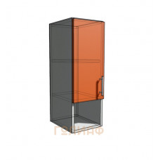 Верхний навесной шкаф 25 см с открытой полкой (720)