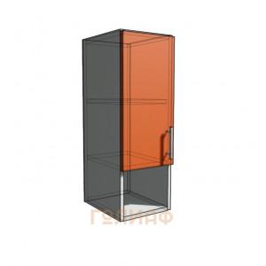 Верхний навесной шкаф 25 см с открытой полкой 1Д (720)