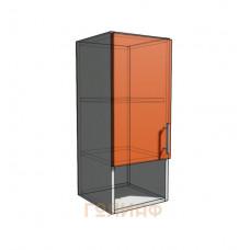 Верхний навесной шкаф 30 см с открытой полкой 1Д (720)