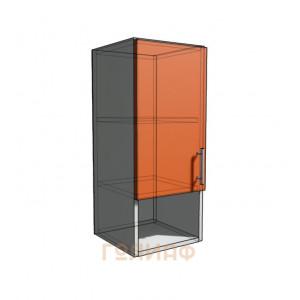 Верхний навесной шкаф 30 см с открытой полкой (720)