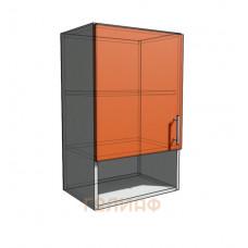 Верхний навесной шкаф 45 см с открытой полкой 1Д (720)
