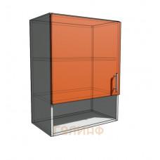 Верхний навесной шкаф 55 см с открытой полкой 1Д (720)