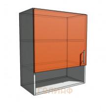 Верхний навесной шкаф 60 см с открытой полкой 1Д (720)