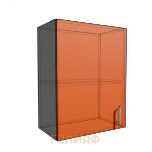 Верхний навесной шкаф 55 см 1Д (720)