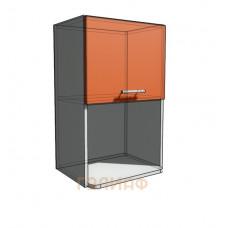 Верхний навесной шкаф 45 см с открытой полкой СВЧ (720)