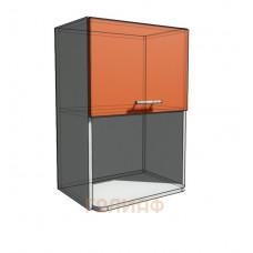 Верхний навесной шкаф 50 см с открытой полкой СВЧ (720)