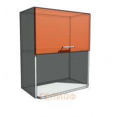 Верхний навесной шкаф 60 см с открытой полкой СВЧ (720)