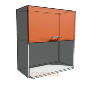 Верхний навесной шкаф 65 см с открытой полкой СВЧ (720)