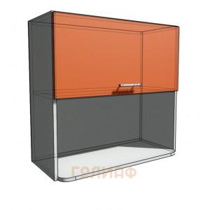 Верхний навесной шкаф 75 см с открытой полкой СВЧ (720)