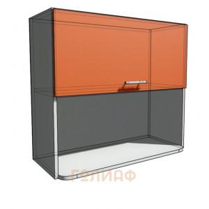 Верхний навесной шкаф 80 см с открытой полкой СВЧ (720)