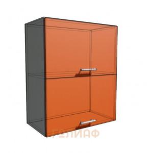 Верхний навесной шкаф 60 см 2Д гор (720)