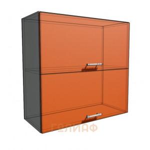 Верхний навесной шкаф 75 см 2Д гор (720)