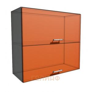 Верхний навесной шкаф 80 см 2Д гор (720)