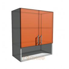Верхний навесной шкаф 60 см с открытой полкой 2Д (720)