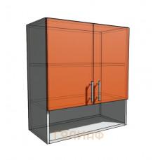 Верхний навесной шкаф 65 см с открытой полкой 2Д (720)