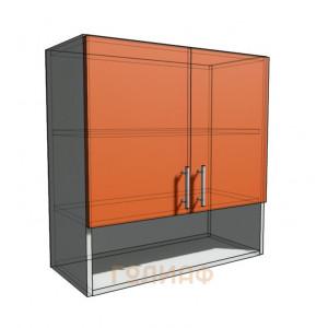Верхний навесной шкаф 70 см с открытой полкой (720)