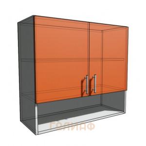 Верхний навесной шкаф 80 см с открытой полкой (720)