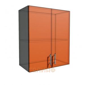 Верхний навесной шкаф 60 см 2Д (720)