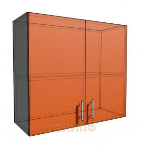 Верхний навесной шкаф 80 см 2Д (720)