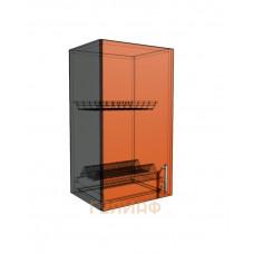 Верхний навесной шкаф 40 см 1Д под сушилку (720)