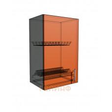 Верхний навесной шкаф 45 см 1Д под сушилку (720)