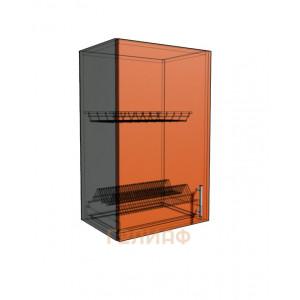 Верхний навесной шкаф 45 см под сушилку (720)