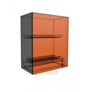 Верхний навесной шкаф 60 см 1Д под сушилку (720)