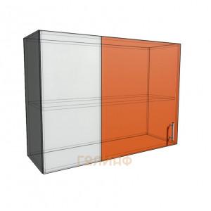 Верхний навесной шкаф 100 см проходного типа (720)