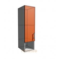 Верхний навесной шкаф 25 см с открытой полкой (920)