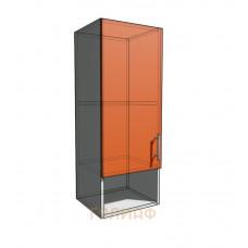 Верхний навесной шкаф 35 см с открытой полкой 1Д (920)