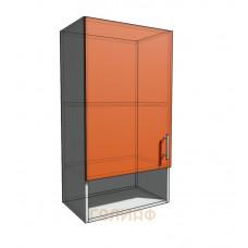Верхний навесной шкаф 50 см с открытой полкой 1Д (920)