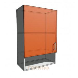 Верхний навесной шкаф 55 см с открытой полкой 1Д (920)
