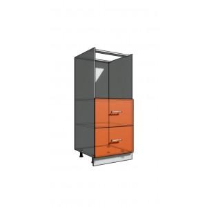 Пенал 1420 60 см духовка + 2 ящика (550)