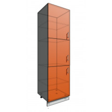 Пенал 2140 60 см 3 Двери (550)