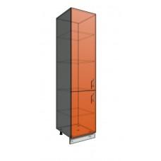 Пенал шкаф 2140 50 см 2 двери (550)