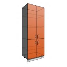 Пенал шкаф 2140 80 см 4 двери (550)