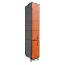 Пенал шкаф 2340 40 см 2 двери (550)