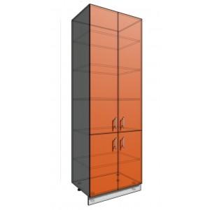 Пенал шкаф 2340 80 см 4 двери (550)