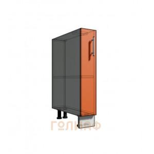 Нижний шкаф 15 1Д рабочий стол (500)