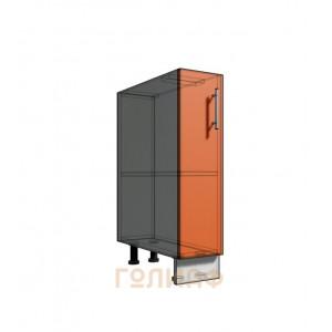 Нижний шкаф 20 1Д рабочий стол (500)