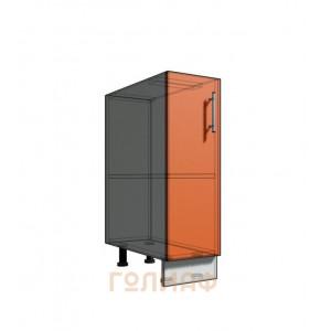 Нижний шкаф 25 1Д рабочий стол (500)