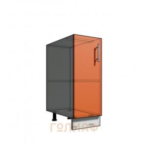 Нижний шкаф 30 1Д рабочий стол (500)