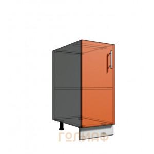 Нижний шкаф 35 1Д рабочий стол (500)