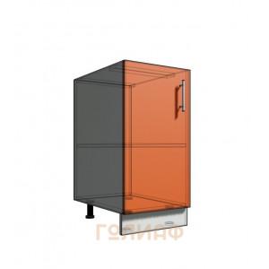 Нижний шкаф 40 1Д рабочий стол (500)
